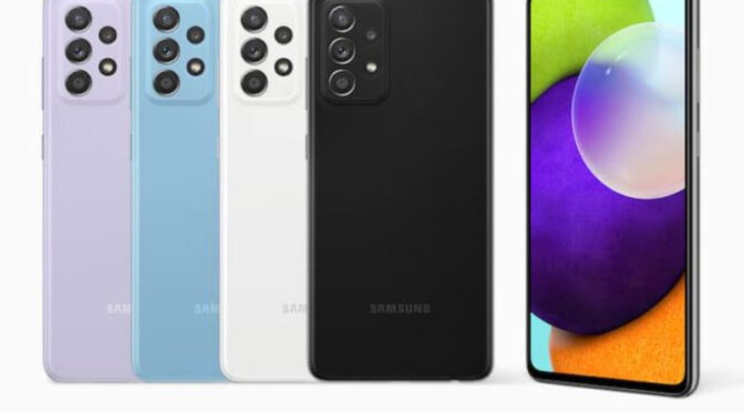 Samsung A52s Price, Features and Photographs